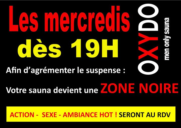 ZONE NOIRE in Strasbourg le Wed, October  9, 2019 from 07:00 pm to 01:00 am (Sex Gay)