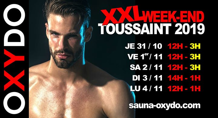 XXL Weekend Toussaint in Strasbourg from October 31 til November  4, 2019 (Sex Gay)