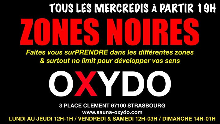 ZONE Noires in Strasbourg le Wed, October 14, 2020 from 07:00 pm to 01:00 am (Sex Gay)