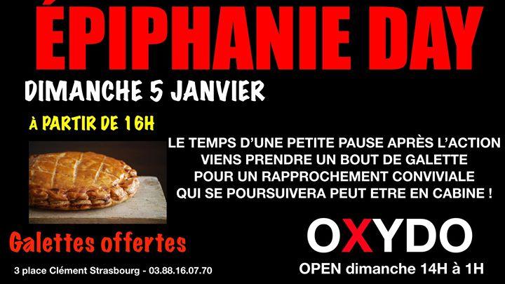 Epiphanie Day à Strasbourg le dim.  5 janvier 2020 de 01h00 à 01h00 (Sexe Gay)