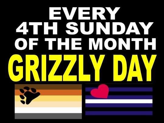 Grizzly DAY à Strasbourg le dim. 26 mai 2019 de 12h00 à 01h00 (Sexe Gay)