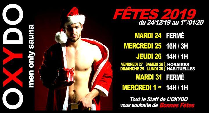 Fêtes de fin année à Strasbourg du 24 décembre 2019 au  2 janvier 2020 (Sexe Gay)