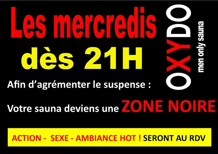 ZONE NOIRE in Strasbourg le Wed, May 22, 2019 from 12:00 pm to 01:00 am (Sex Gay)