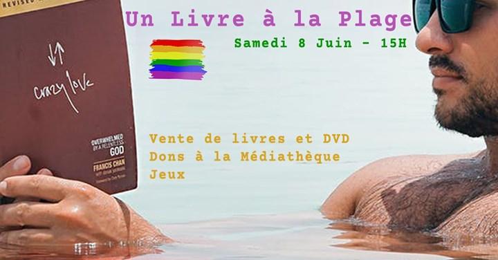 Un Livre à la Plage a Strasbourg le sab  8 giugno 2019 15:00-19:00 (Incontri / Dibatti Gay, Lesbica)