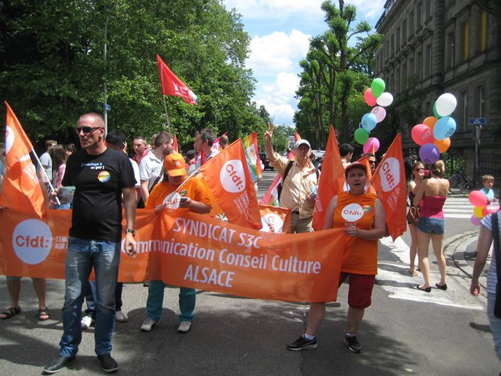 Débat Lutte contre les discriminations dans le monde du travail in Strasbourg le Fri, May 24, 2019 from 06:00 pm to 08:00 pm (Meetings / Discussions Gay, Lesbian)