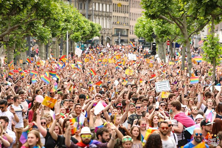 Marche des Visibilités LGBTI - Strasbourg - 2020 à Strasbourg le sam. 13 juin 2020 de 11h00 à 18h00 (Festival Gay, Lesbienne)