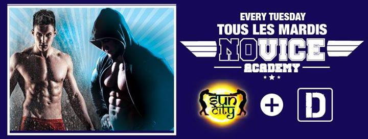 Novice Academy - 7€ pour les moins de 26 ans ! in Paris le Tue, May 21, 2019 from 12:00 pm to 02:00 am (Sex Gay)