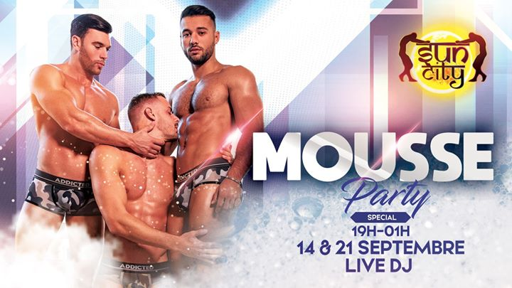 Sun Mousse Party in Paris le Sa 14. September, 2019 19.00 bis 01.00 (Sexe Gay)