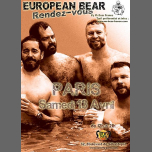 European Bear RDV à Paris à Paris le sam. 13 avril 2019 de 14h00 à 20h00 (Sexe Gay)