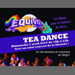 Thé Dansant d'Equivox au Tango in Paris le So  7. April, 2019 18.00 bis 23.00 (Tea Dance Gay, Lesbierin, Hetero Friendly)