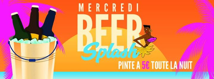 Banana Beer Splash in Paris le Wed, June 19, 2019 from 05:00 pm to 06:00 am (Clubbing Gay Friendly)