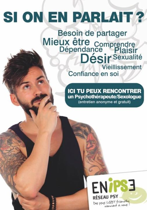 Si on en parlait ? in Bordeaux le Sat, May 25, 2019 from 02:00 pm to 05:00 pm (Health care Gay, Lesbian)
