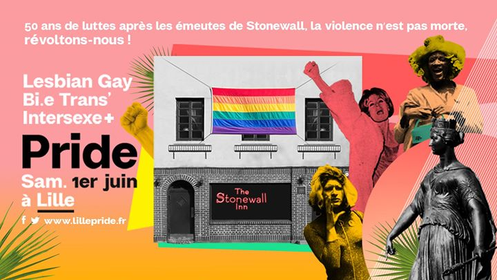 24ème lgbti+ Pride Lille sam 1er juin 2019 - Page officielle in Lille le Sat, June  1, 2019 from 12:00 pm to 06:00 pm (Festival Gay, Lesbian)