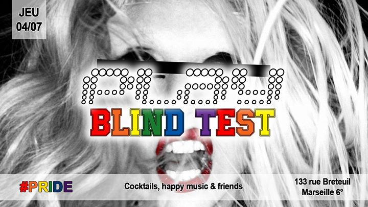 Blind test PRIDE - Play Bar en Marsella le jue  4 de julio de 2019 20:00-02:00 (After-Work Gay, Lesbiana)