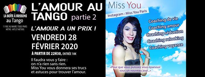 L'amour au Tango Partie 2 à Paris le ven. 28 février 2020 de 22h30 à 05h00 (Clubbing Gay, Lesbienne)
