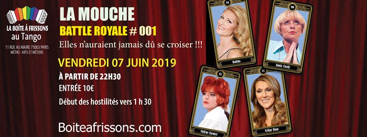 La Mouche Battle Royale #001 - Finale Saison 1 in Paris le Fri, June  7, 2019 from 10:30 pm to 05:00 am (Clubbing Gay, Lesbian)