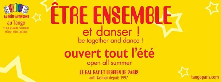 Le Bal LGBT du Tango en Paris le vie 30 de agosto de 2019 22:30-05:00 (Clubbing Gay, Lesbiana)