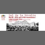 Bal de la Révolte (veille de jour férié) à Paris le lun. 30 avril 2018 de 22h30 à 05h00 (Clubbing Gay, Lesbienne)