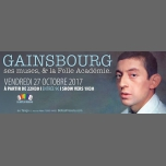 Gainsbourg, ses muses et la Folle Ac' à Paris le ven. 27 octobre 2017 de 22h30 à 05h00 (Clubbing Gay, Lesbienne)