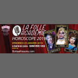 La Folle Académie : Horoscope 2019 ! in Paris le Fri, January 25, 2019 from 10:30 pm to 05:00 am (Clubbing Gay, Lesbian)
