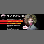 DRAG POWER ! in Paris le Fri, March  8, 2019 from 10:30 pm to 05:00 am (Clubbing Gay, Lesbian)