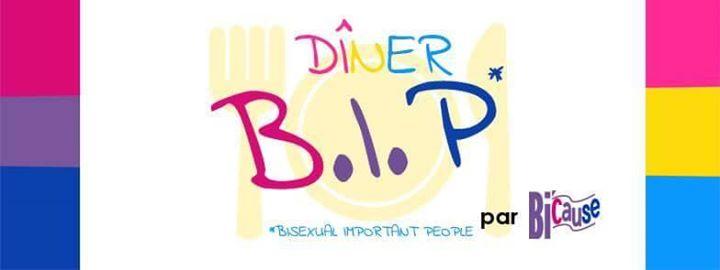 Dîner B.I.P (Bisexual Important People) a Parigi le ven 20 dicembre 2019 20:00-23:00 (Incontri / Dibatti Gay, Lesbica, Trans, Bi)