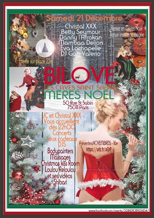Bilove ✪ Mères Noël en Paris le sáb 21 de diciembre de 2019 22:00-06:00 (Clubbing Gay, Lesbiana, Trans, Bi)