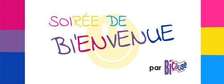Bi'envenue —> à L'EP7 en Paris le jue 29 de agosto de 2019 20:00-23:30 (Reuniones / Debates Gay, Lesbiana, Trans, Bi)