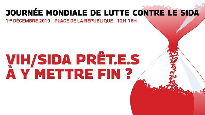 1er décembre : Journée mondiale de lutte contre le SIDA en Paris le dom  1 de diciembre de 2019 12:00-16:00 (Marchas / Desfiles Gay, Lesbiana, Trans, Bi)