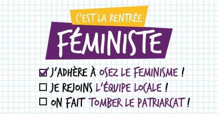 Pique-nique de rentrée Osez le Féminisme 69 ! à Lyon le mar. 10 septembre 2019 de 19h00 à 22h00 (Pique-Nique Lesbienne)