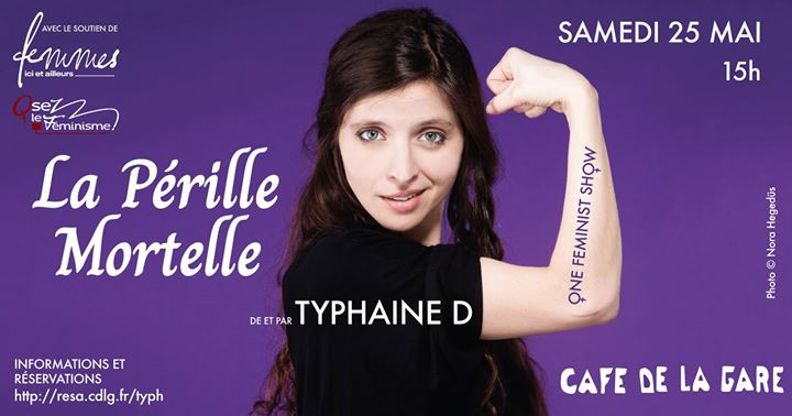Spectacle: La Pérille Mortelle au Café de la Gare ! in Paris le Sat, May 25, 2019 from 03:00 pm to 06:00 pm (Show Lesbian)
