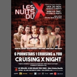 LES NUITS DU X par F. Crunchboy in Paris le Fr 30. November, 2018 22.00 bis 04.00 (Sexe Gay)