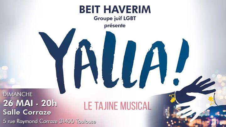 Yalla, le tajine musical à Toulouse le dim. 26 mai 2019 à 20h00 (Spectacle Gay, Lesbienne)