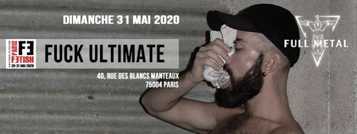 Fuck Ultimate /// PF#7 à Paris le dim. 31 mai 2020 de 21h00 à 04h00 (Sexe Gay, Bear)