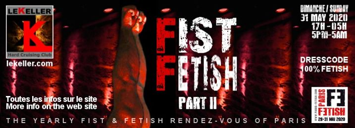 Fist Fetish - Part II /// PF#7 à Paris le dim. 31 mai 2020 de 17h00 à 05h00 (Sexe Gay, Bear)