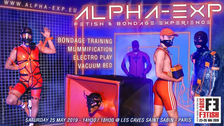 Alpha-Exp in Paris le Sat, May 25, 2019 from 02:30 pm to 06:30 pm (Sex Gay, Bear)