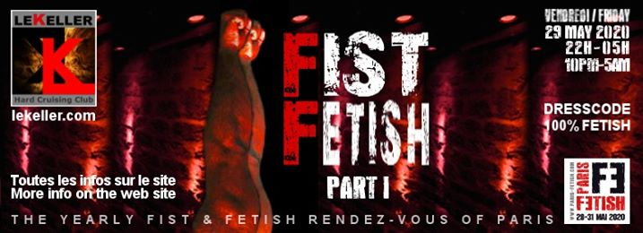 Fist Fetish - Part I /// PF#7 à Paris le ven. 29 mai 2020 de 22h00 à 05h00 (Sexe Gay, Bear)