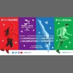 Gay Games 10 - Tennis à Paris du  5 au 10 août 2018 (Sport Gay, Lesbienne)