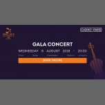 Paris 2018 - Gala Concert in Paris le Wed, August  8, 2018 from 08:00 pm to 11:00 pm (Concert Gay, Lesbian)