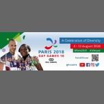 Squash à Paris du  6 au 10 août 2018 (Sport Gay, Lesbienne)