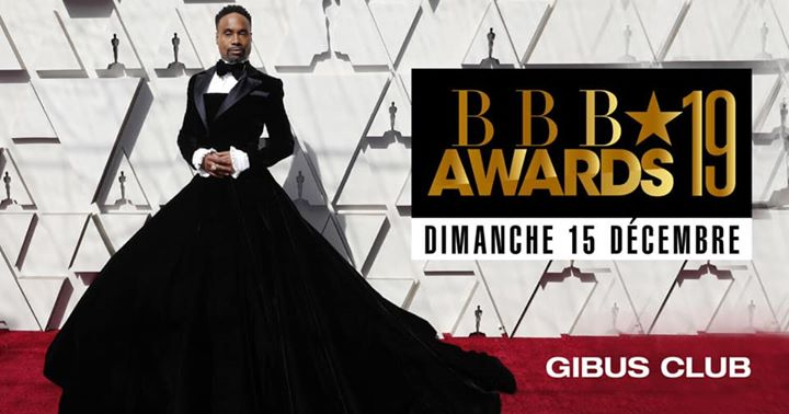BBB Awards 2019 a Parigi le dom 15 dicembre 2019 23:00-06:00 (Clubbing Gay friendly)