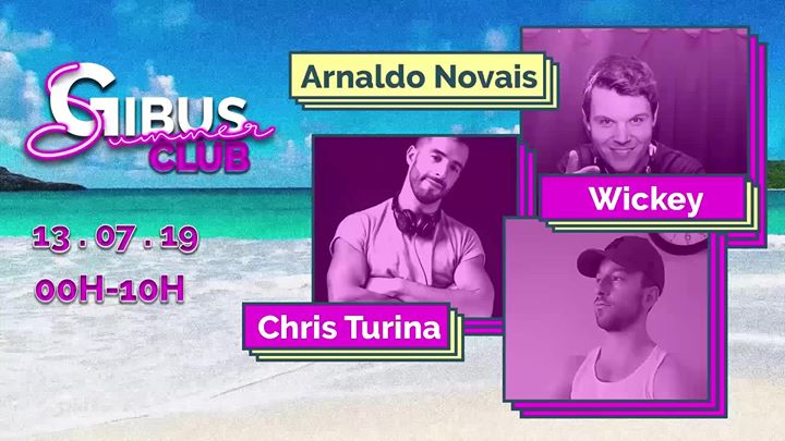GIBUS Summer Club #2 in Paris le Sa 13. Juli, 2019 23.59 bis 10.00 (Clubbing Gay Friendly)