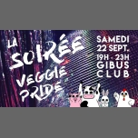 La Soirée Veggie Pride au Gibus Club à Paris le sam. 22 septembre 2018 de 19h00 à 23h00 (After-Work Gay Friendly)