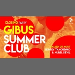 Gibus Summer Club Closing : Aurel Devil x Sergey Tkachenko en Paris le sáb 25 de agosto de 2018 23:30-06:00 (Clubbing Gay Friendly)