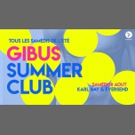 Gibus Summer Club #3 : Karl Kay x Eversend in Paris le Sa 18. August, 2018 23.55 bis 06.00 (Clubbing Gay Friendly)