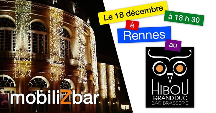1er MobiliZbar à Rennes a Rennes le mer 18 dicembre 2019 18:30-20:30 (After-work Gay, Lesbica, Etero friendly)