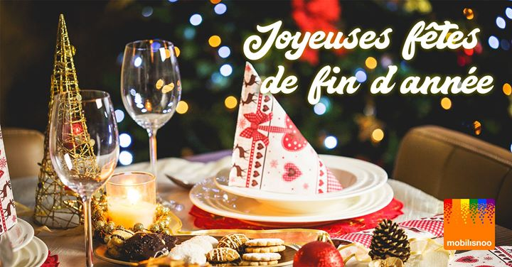 Dîner de fin d'année Mobilisnoo à Toulouse a Tolosa le sab  7 dicembre 2019 20:30-00:30 (After-work Gay, Lesbica, Etero friendly)