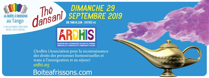 Le Thé dansant de l'Ardhis in Paris le So 29. September, 2019 18.00 bis 23.00 (Tea Dance Gay, Lesbierin)