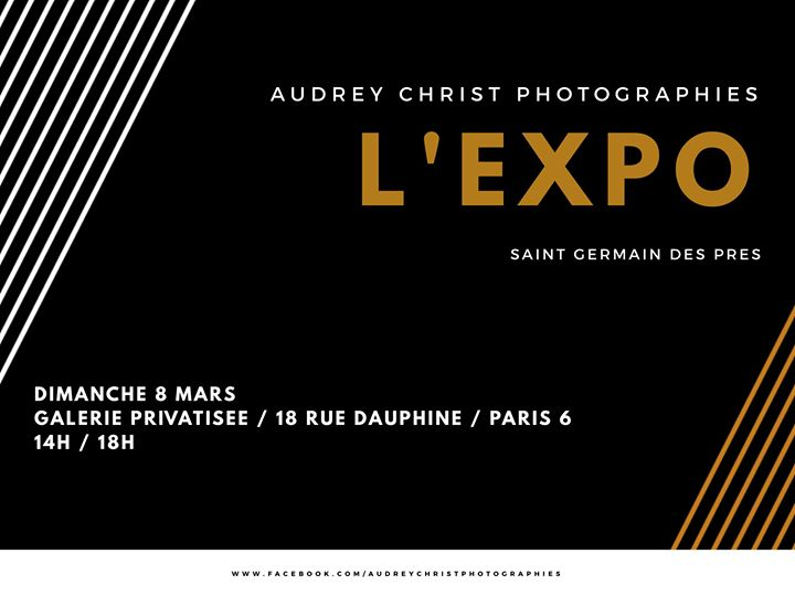L'Expo exclusive / Galerie privatisée / Saint Germain des Prés a Parigi le dom  8 marzo 2020 14:00-18:00 (Mostra Lesbica)