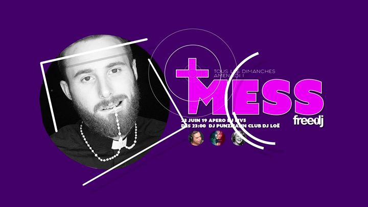 Mess - La soirée POP et Décalée du freedj in Paris le So 18. August, 2019 22.00 bis 03.00 (Clubbing Gay)